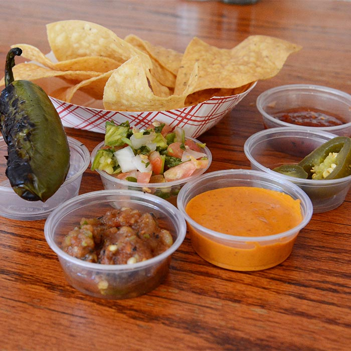 Best Salsas California Awards year after year, at El toro in Mission, San Francisco